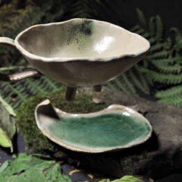 filiżanka z napisem ja wybieram, ceramika artystyczna elius art, arteliu sklep
