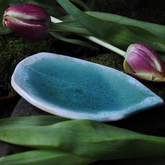 artystyczny talerz na bizuterie ceramika arteliu