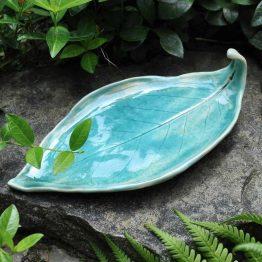 ceramiczna podstawka pod palo santo na kadzidła rękodzieło ceramiczne