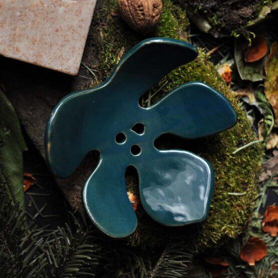 ceramiczna mydelniczka z dziurkami sklep arteliu z ceramika artystyczna