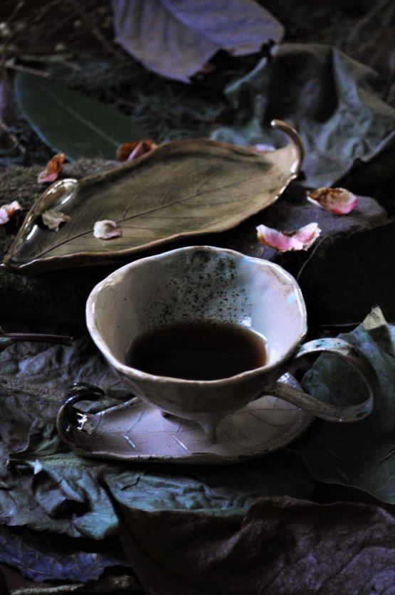 ceramika artystyczna rękodzieło filiżanka na espresso arteliu