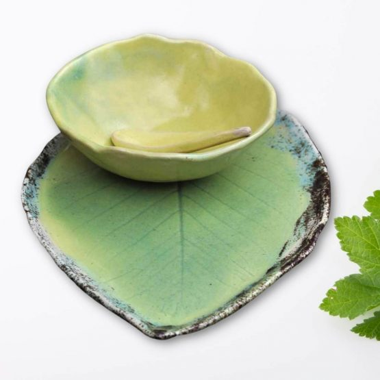 ceramiczny komplet na sushi ręcznie robiony artystyczny arteliu sklep