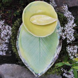 ceramiczny zestaw do sushi rękodzieło artystyczne